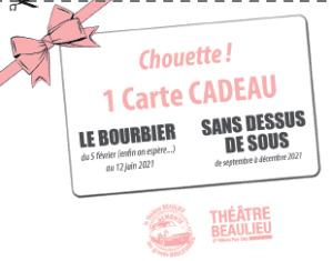 Aperçu carte-cadeau 2021 Théâtre Beaulieu - petit
