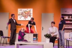 Toc toc - scène - 2013 - Théâtre Beaulieu, Nantes