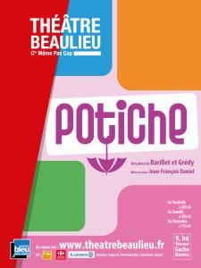 Affiche internet Potiche - Théâtre Beaulieu